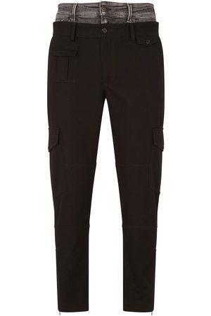 Dolce & Gabbana Pantalones con doble cintura