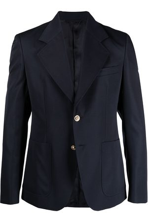 VERSACE Hombre Blazers - Notched-lapel single-breasted blazer