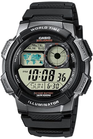 Casio Reloj digital AE-1000W-1BVEF, Quartz, 43mm, 10ATM para hombre