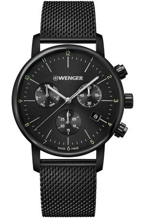 Wenger Reloj analógico 01.1743.116, Quartz, 44mm, 10ATM para hombre