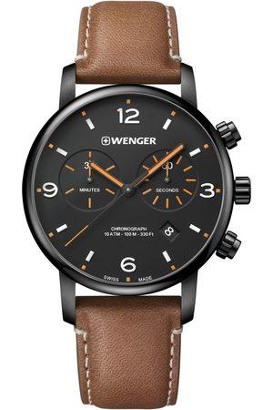 Wenger Reloj analógico 01.1743.113, Quartz, 44mm, 10ATM para hombre