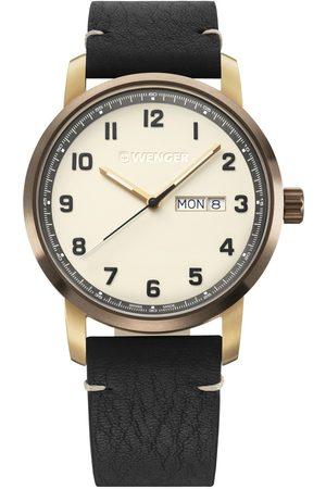 Wenger Reloj analógico 01.1541.124, Quartz, 42mm, 10ATM para hombre