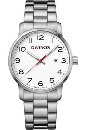Wenger Reloj analógico 01.1641.104, Quartz, 42mm, 10ATM para hombre