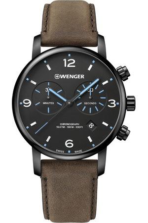 Wenger Reloj analógico 01.1743.112, Quartz, 44mm, 10ATM para hombre
