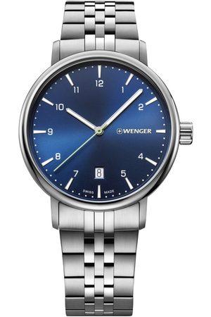 Wenger Reloj analógico 01.1731.121, Quartz, 40mm, 10ATM para hombre