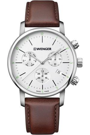 Wenger Reloj analógico 01.1743.101, Quartz, 44mm, 10ATM para hombre