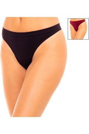 Dim Tangas Pack-2 Tangas Microfibra para mujer