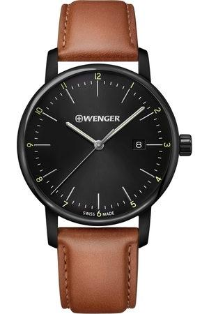 Wenger Reloj analógico 01.1741.136, Quartz, 42mm, 10ATM para hombre