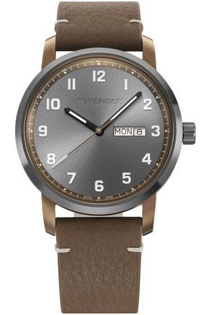 Wenger Reloj analógico 01.1541.123, Quartz, 42mm, 10ATM para hombre