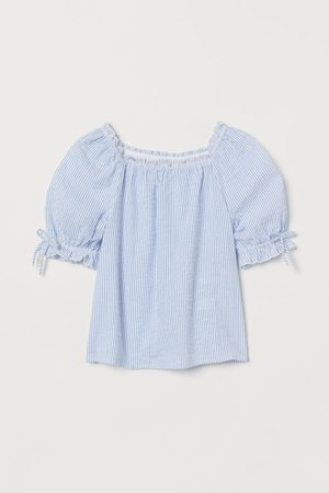 H&M Blusa de sirsaca