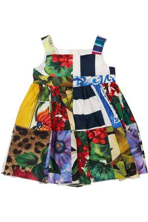 Dolce & Gabbana | Niña Vestido Y Cubre Pañal De Algodón Estampado 6-9m
