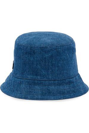 Miu Miu Sombrero de pescador con parche del logo