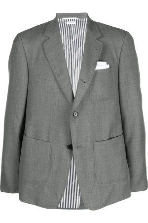 Thom Browne Blazer con bolsillos de parche