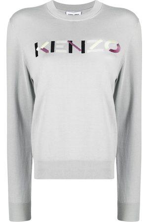 Kenzo Jersey de punto con logo bordado