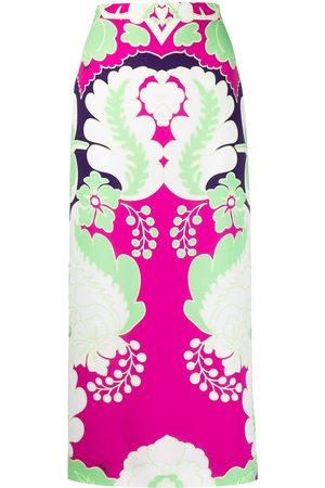 Valentino Mujer Estampadas - Falda recta con estampado Marta