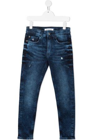 Calvin Klein Kids Vaqueros slim con cinco bolsillos