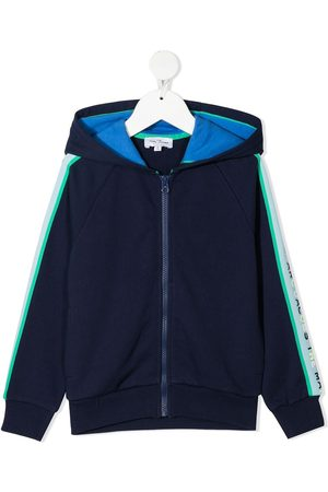 The Marc Jacobs Kids Chaqueta bomber con rayas laterales
