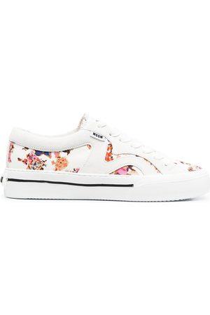 MSGM Mujer Zapatillas deportivas - Zapatillas con paneles con motivo floral