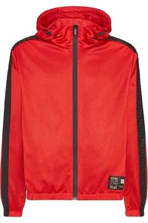 Fendi Chaqueta con capucha y perforaciones de x K-Way®