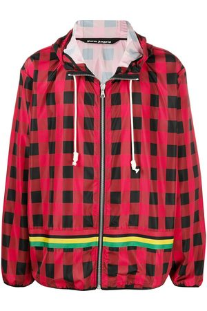 Palm Angels Buffalo checked windbreaker