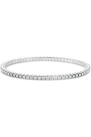 Pragnell Pulsera en oro blanco de 18kt con diamante