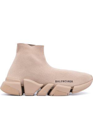Balenciaga Zapatillas Speed con logo estampado