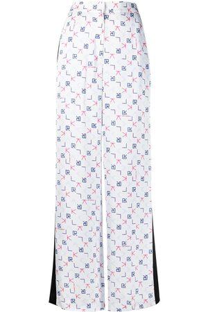 Karl Lagerfeld Pantalones de vestir con estampado Karl Tetris