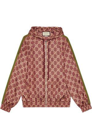 Gucci Chaqueta con estampado GG Supreme