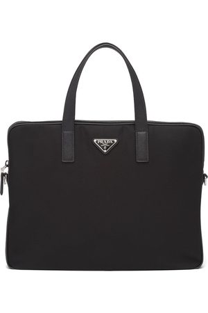 Prada Hombre Maletines y bolsas de trabajo - Maletín con logo triangular