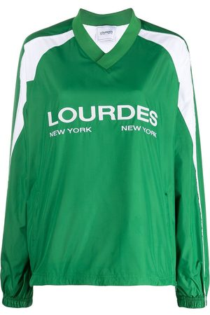 Lourdes Jersey con logo y manga larga