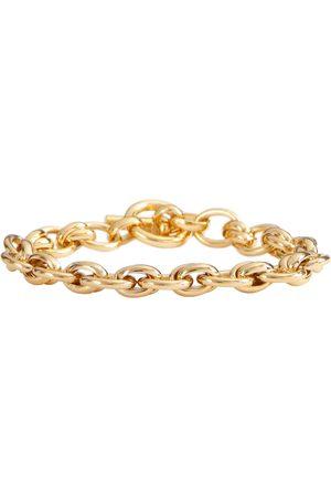 Tilly Sveaas Pulsera de cadena Double Link de oro de 18 ct