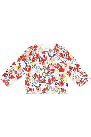 Bonpoint Bebé – cárdigan de algodón floral