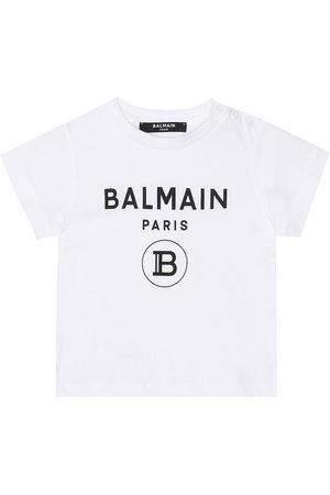 Balmain Kids Bebé – camiseta de punto fino