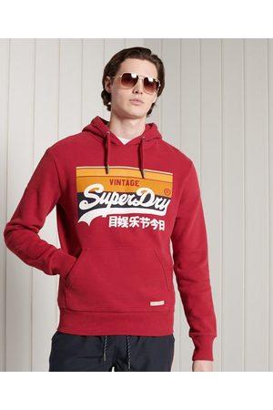 Superdry Hombre Sudaderas - Sudadera de rayas Cali con capucha y con el logo Vintage