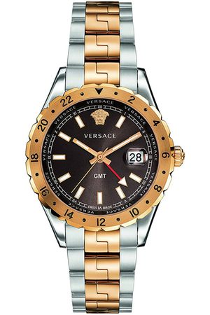 VERSACE Reloj analógico V11040015, Quartz, 42mm, 5ATM para hombre