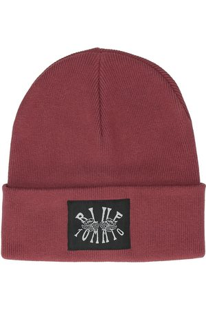 Blue Tomato Roses Woven Patch Beanie
