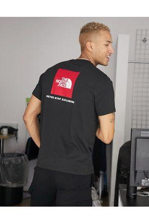 The North Face Camiseta negra Red Box de
