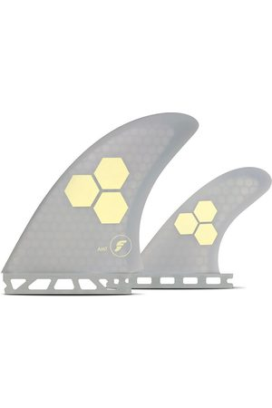Futures Fins Twin Channel Islands AMT Honeycmb Fin Set gris