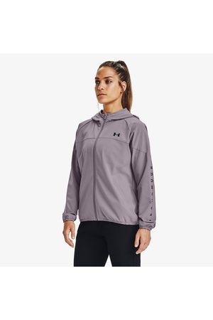 Under Armour Mujer Outdoor - Woven Hooded Jacket Slate Purple/ Black/ Black