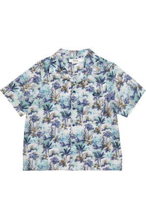 BONPOINT Niño Camisas - Camisa Steve de algodón floral