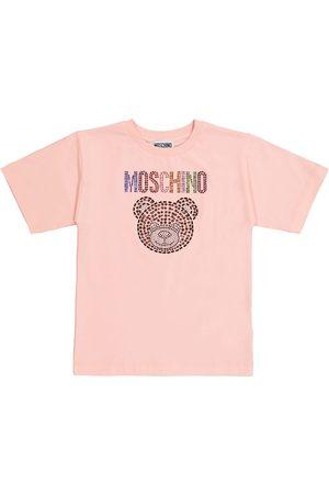 Moschino Camiseta de algodón elastizado