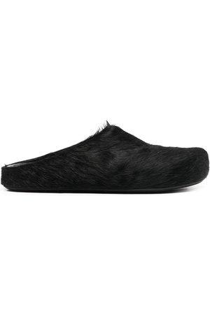 Marni Hombre Chanclas - Slippers de pelo de becerro