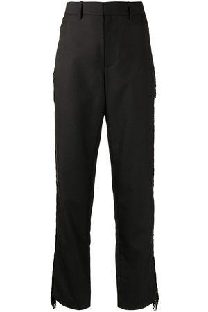 DION LEE Mujer Pantalones y Leggings - Pantalones con detalle de flecos