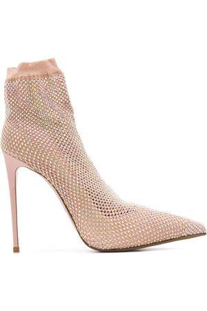 LE SILLA Zapatos de tacón con detalles de cristal