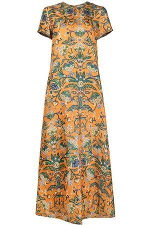 La DoubleJ Vestido swing con estampado floral