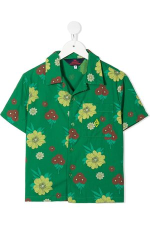 The Animals Observatory Floral-print shirt