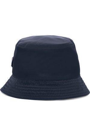 Prada Sombrero de pescador con placa del logo