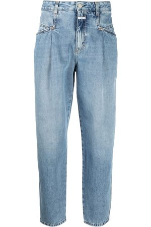 Closed Vaqueros tapered de talle alto