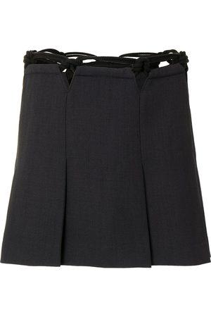 DION LEE Minifalda de macramé