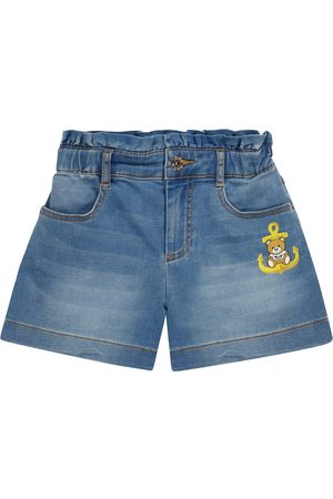 Moschino Shorts de jeans elastizados